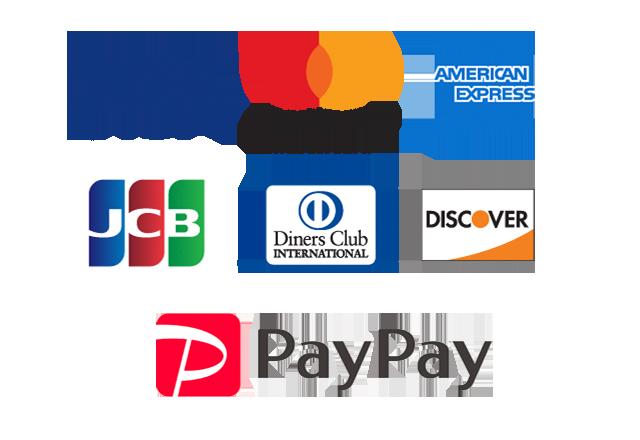 クレジットカード決済・スマホ決済paypay