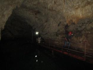 水連洞水流調査
