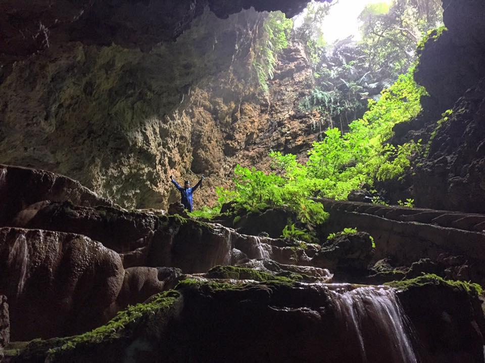 ケイビング リムストーン 水連洞 大蛇洞