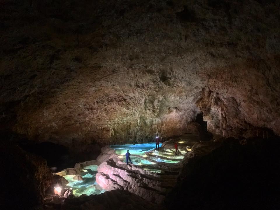 沖永良部島ケイビング 銀水洞