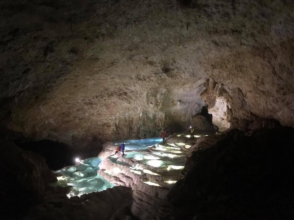 銀水洞の絶景