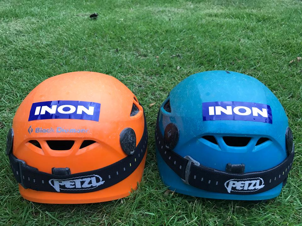 INON ヘルメット