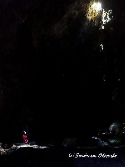 リムストーンと水連洞