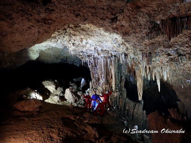 沖永良部島 洞窟内