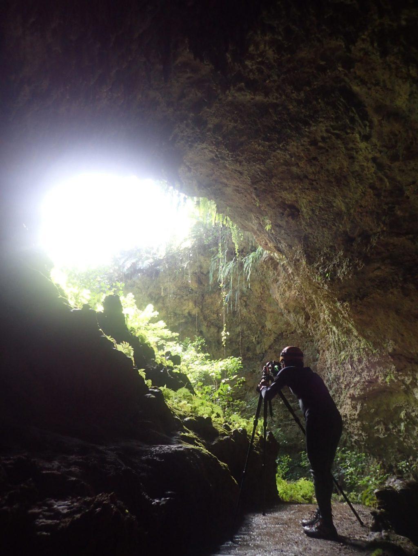 風景写真家さんと水連洞へ2