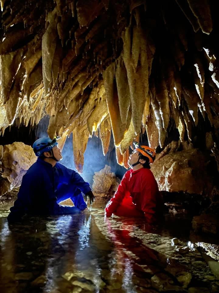 冒険感満載の大蛇洞